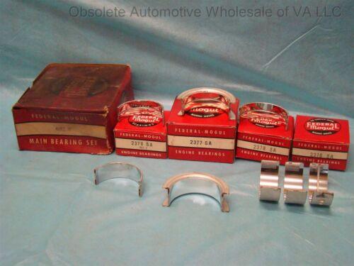 1960 - 1976 Chrysler 170 198 225 Slant 6 Main Bearing Set Std