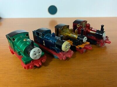Vintage Thomas The Tank Engine Metallic Die Cast Toys