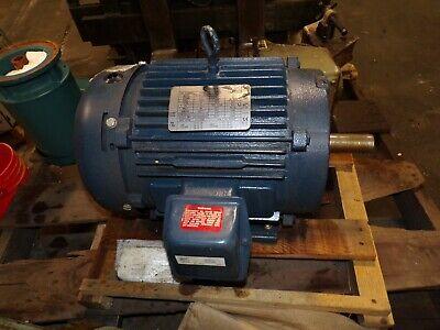 New Century 10 Hp Ac Electric Motor 215t Frame 230460 Vac 3510 Rpm Tefc