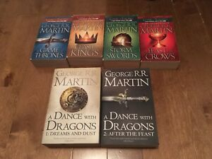 Games of Thrones - tomes 1 à 5 (en anglais)