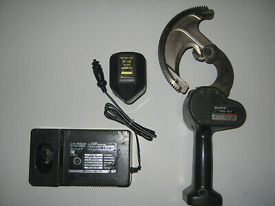 Huskie Cutter Rec-54ac With Good Bp70 Battery And Ch70dch Vehicle Charger