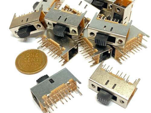 25 Pieces Slide switch 2P4T 16pin on/off/on ss-43d01  E4