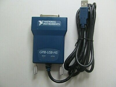 National Instruments Ni Gpib-usb-hs Interface Adapter Ieee 488 Controller