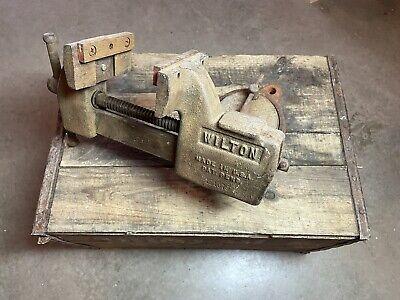 Wilton 4 Tilting Bench Vise W Swivel Base 121079 Vintage Gunsmith Machinist