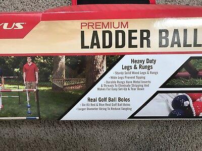 NEW! Kelsyus Premium Ladder Ball Yard Game (Ladderball Game)