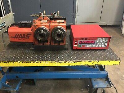 Haas 5c Dual Collet Indexer 4th Axis W Servo Box W Air Closer