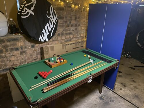 Snooker Pool Table Tennis Dining Table 6 Foot