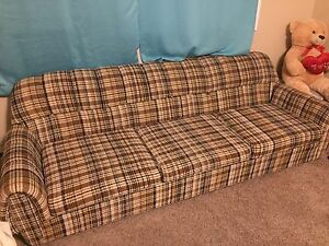 Sofa and 2 chairs for 50 dollars only.  Buy today.