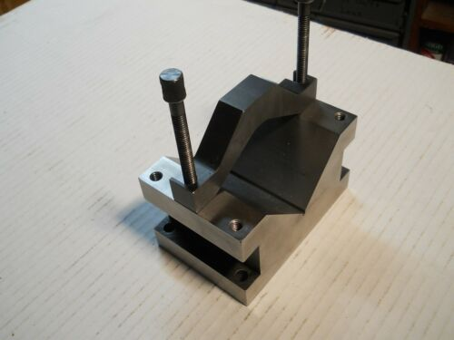 Starrett #578  Large  V-Block and Clamp Set     Good Used