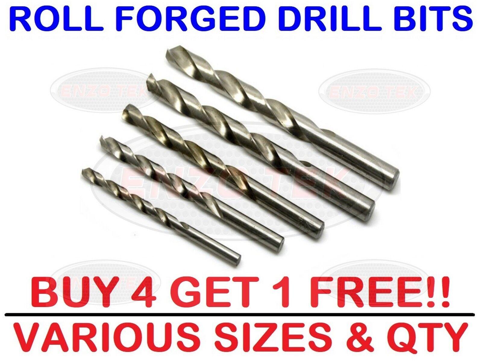 Metric HSS Roll Forged Drill Bits