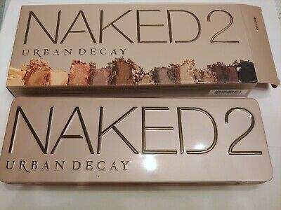 Brand New / Sealed - Urban Decay Naked2 Eye Shadow Palette - 12 Shades Makeup!