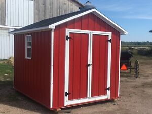 Storage Sheds delivered to Greater Sudbury.