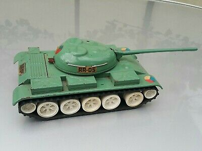 Used, VINTAGE TANK ITES RA - 05 TIN MILITARY TOY BATT. OPERAT. CZECH RUSSIAN ARMY IGRA for sale  Shipping to India