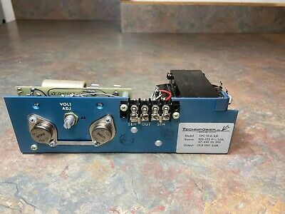 Vintage Technipower 15.0-2.0 Power Supply New