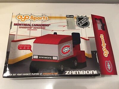 Oyo Sports NHL Montreal Canadiens Zamboni Machine Building Brick Set for sale  Belwood