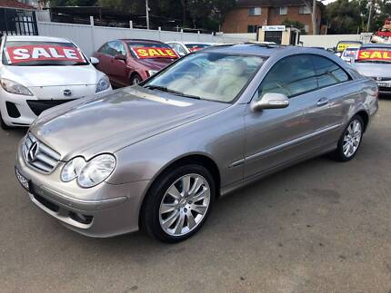 2005 Mercedes-Benz CLK280 Coupe MY06 VERY LOW KMS  **LIKE NEW** Granville Parramatta Area Preview