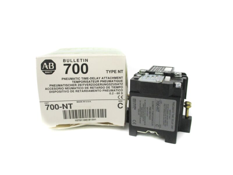 ALLEN BRADLEY 700-NT SER. C 0.2-60SEC (WH) NSMP