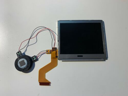 New Top Upper LCD Screen Replacement for Nintendo DS Lite with Speakers Soldered