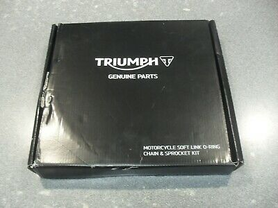 GENUINE TRIUMPH TIGER 800 CHAIN AND SPROCKET KIT T2017250