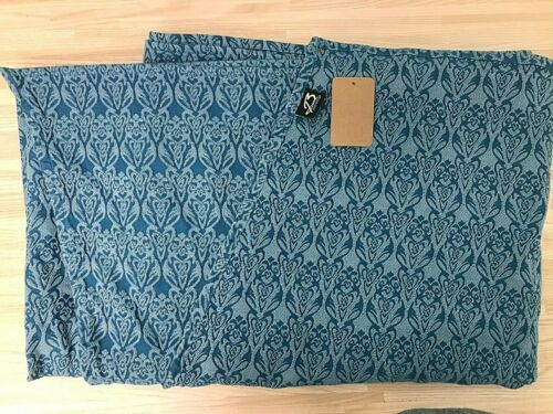 Baie Sling Woven Wrap Teal Cotton UKBaby Carrier 152 inches
