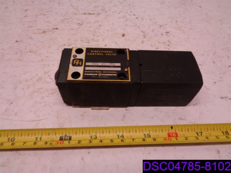 Parker Hannifin Directional Control Valve Model No. 4MD 20 VB