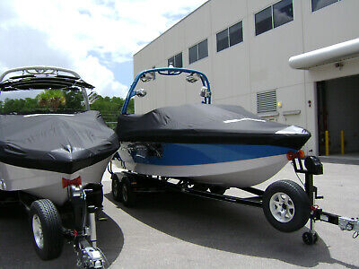 2011 SKI NAUTIQUE SPORT NAUTIQUE 216 W/ FCT-5 TOWER OEM BOAT COVER 110150  Ski Nautique Boat Cover