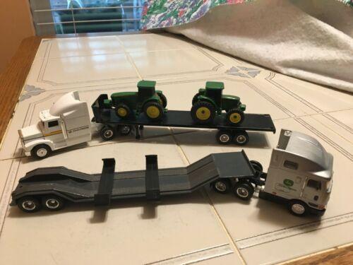 JOHN DEERE ERTL INTERNATIONAL TOY TRAILERS TRUCKS TRACTORS 1/64