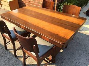 Art Deco Dining Setting 5 piece.  Beautiful Vintage Mid century s Kewdale Belmont Area Preview