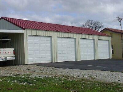 Steel Gable Building4 Car Garage