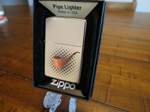PIPE LIGHTER ZIPPO LIGHTER MINT IN BOX WITH PIPE INSERT