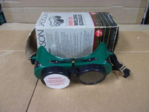 Vtg Jackson Welding Cutting Torch Brazing Super Goggles Round Lens WR-70 Plasma
