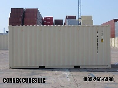 One Trip (New) 20' shipping container for sale in Charlotte, North Carolina
