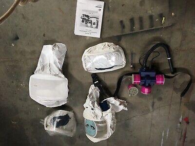 Powered Air Purifying Respirator. Belt-mounted