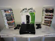 Xbox 360 - 47 games - 4 wireless controllers New Farm Brisbane North East Preview