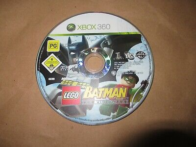 LEGO Batman: The Videogame (Microsoft Xbox 360, 2008) DISC ONLY