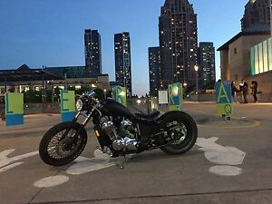 BOBBER 2000 HONDA SHADOW-ONE OF A KIND!!