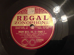 REGINALD-DIXON-Organ-Dixon-Hits-No-9-78rpm-10-1939-EXC