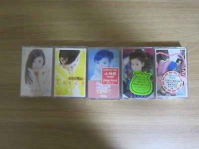 Tarcy Su Hui Lun 蘇慧倫  5 Korea Factory Sealed Cassette Tape BRAND NEW
