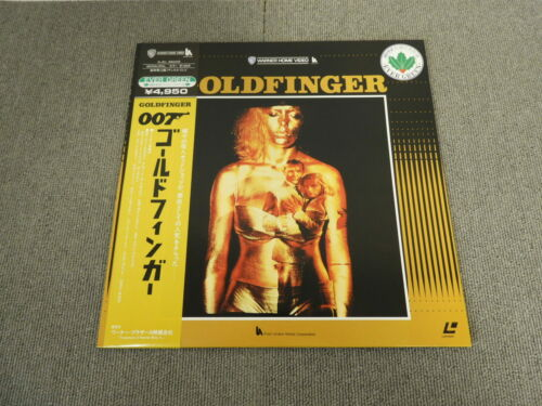 007 - Goldfinger - Laser Disc - OBI JAPAN LD