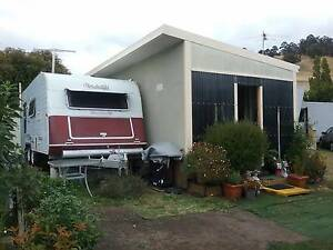 On-site fully furnished unit & large modern caravan Cambridge TAS Geilston Bay Clarence Area Preview