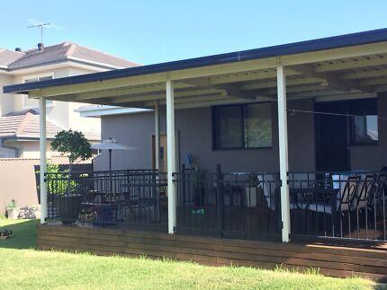 Pergola Alfresco Outdoor Colourbond roof and posts