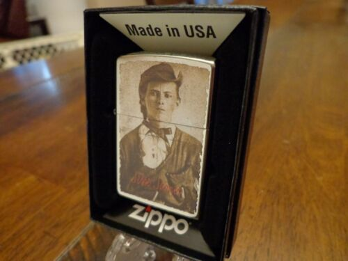 JESSE JAMES OUTLAW ZIPPO LIGHTER MINT IN BOX
