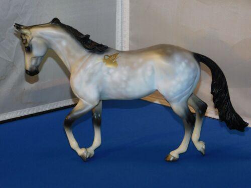 Peter Stone Thoroughbred Angel On My Shoulder Test Model Horse OOAK Signed!