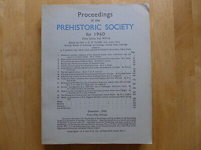 Proceedings Of The Prehistoric Society 1960