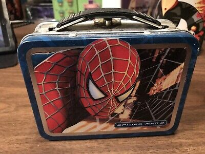 "Spider-Man Lunch Box Style Mini Lunchbox 5 1/2"" x 4 "" x 2 1/2"" Marvel"