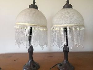 Bedside table lamps Figtree Wollongong Area Preview