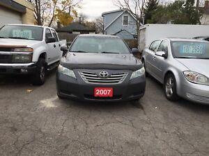 2007 TOYOTA CAMRY HYBRID SYNERGY DRIVE, ONE OWNER CLEAN CARPROOF