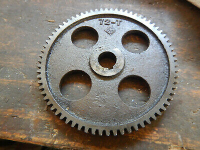 Older Logan Metal Lathe 72-t Change Gear Machinist Tool