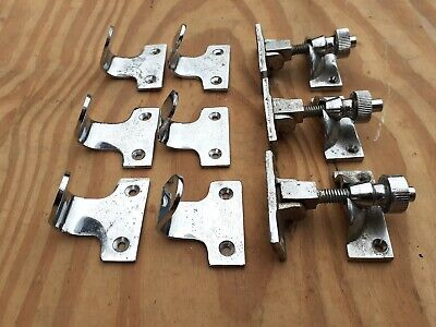 Heavy Duty Sash Window Set Lock Latch Catch + 2 Lifting Fittings 1 Set