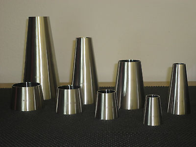One Sanitary Stainless Steel Weld Concentric Reducer 3 X 1 12